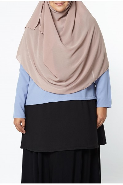 AS-IS FINA TUNIC - DUSTY BLUE