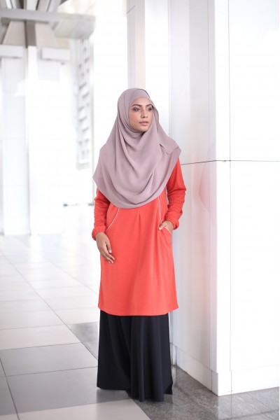 SPECIAL ANNIVERSARY EDITION KHAIRA ACTIVEWEAR - TANGERINE