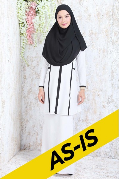 AS-IS BALQIS KURUNG - OFF WHITE