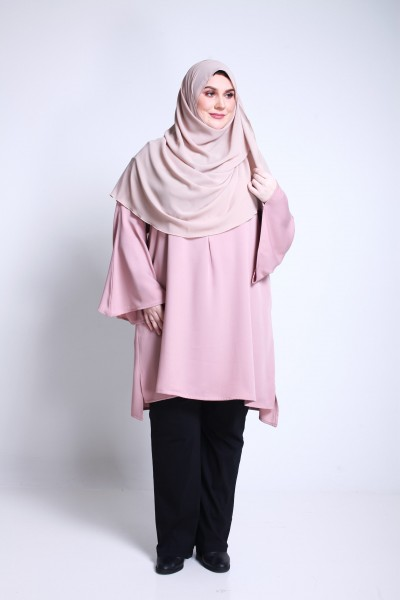DEENA TUNIC - DUSTY PINK