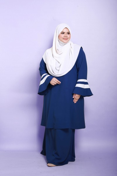 SHUHADA KURUNG - ROYAL BLUE