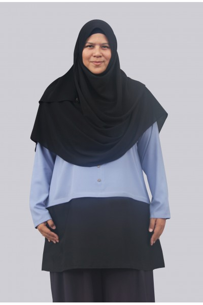 FINA TUNIC - DUSTY BLUE