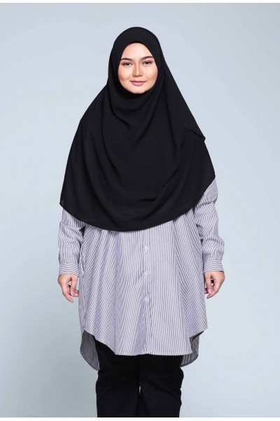 ADILAH TUNIC - BLACK