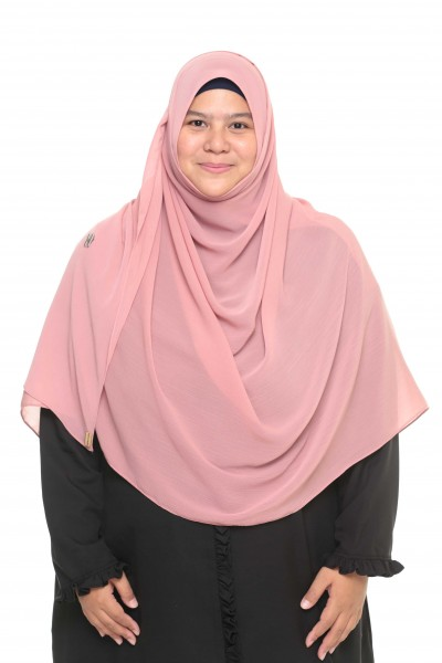 TALIA TEXTURED SHAWL XXL - DUSTY PINK