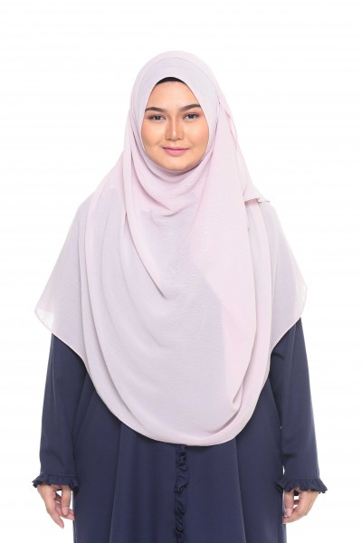 TALIA TEXTURED SHAWL XL - BABY PINK