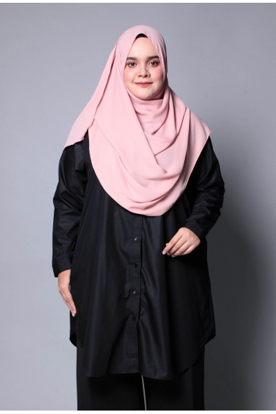 TAHIRAH SHIRT - BLACK