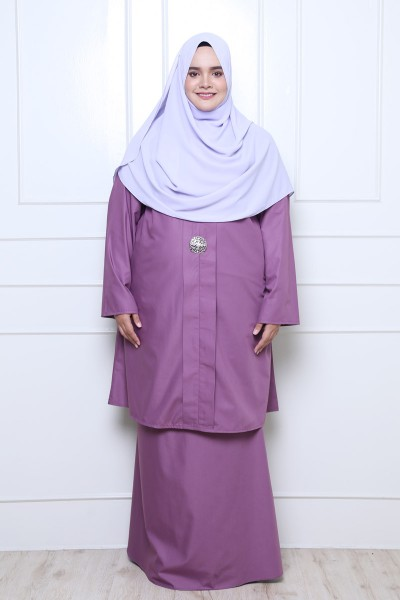 ZAINAB KEBARUNG - LIGHT PURPLE