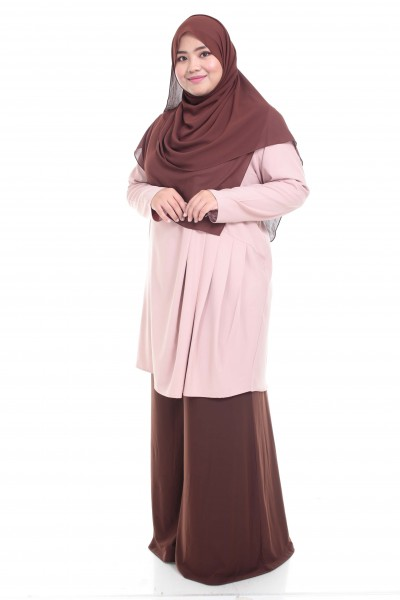 INAYAH TUNIC - DUSTY PEACH