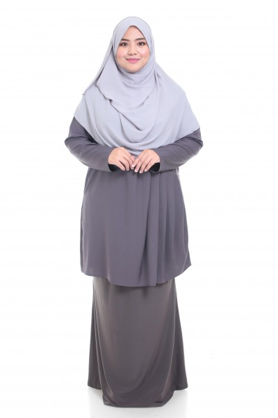 INAYAH TUNIC - DARK GREY