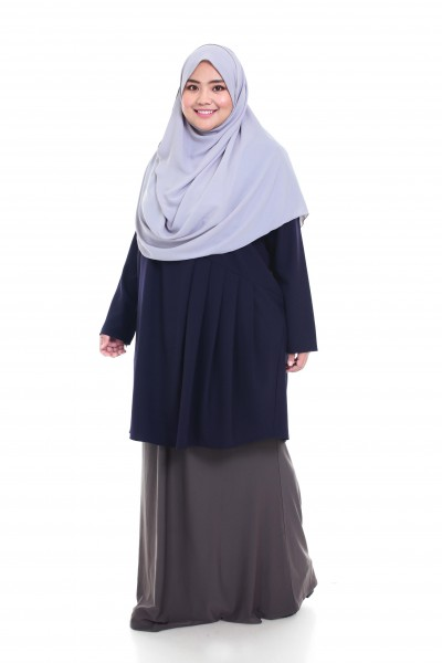 INAYAH TUNIC - DARK BLUE